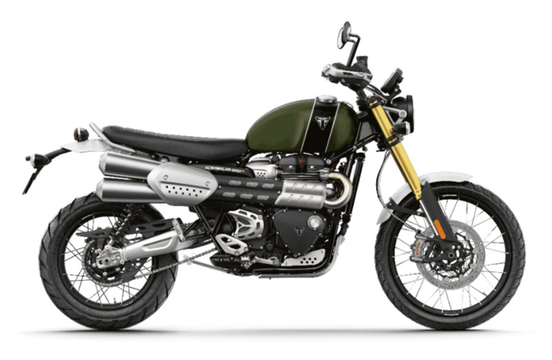 2022 Triumph Scrambler 1200 XC in Iowa City, Iowa