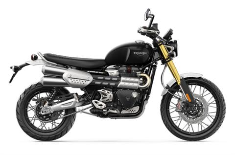 2022 Triumph Scrambler 1200 XE in Saint Louis, Missouri