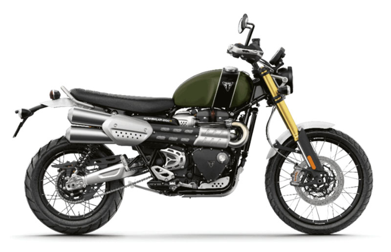 2022 Triumph Scrambler 1200 XE in Mooresville, North Carolina