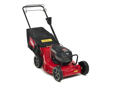 Toro Heavy Duty 21 in. 60V Max Electric Battery 2-Bail in Greenville, North Carolina