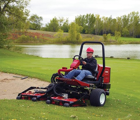 2017 Toro Groundsmaster 3500-G (30809) in Dearborn Heights, Michigan