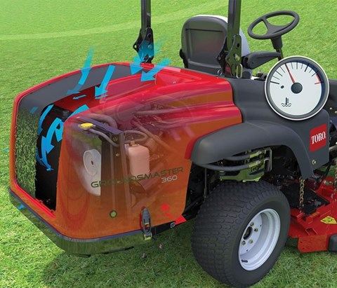 2017 Toro Groundsmaster 360 Quad-Steer 4WD (31200) in Dearborn Heights, Michigan
