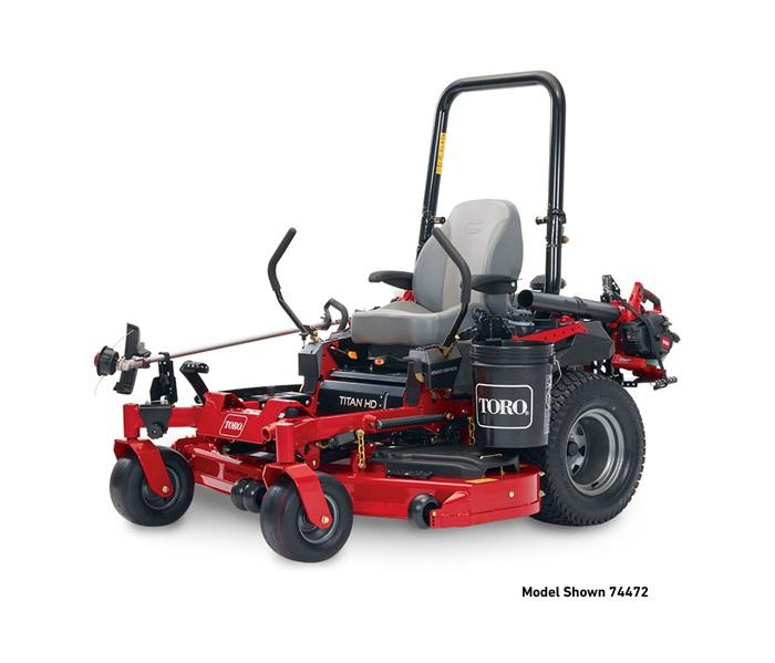 2017 Toro 60 in. (152 cm) Titan HD 1500 Series Zero Turn Mower (74452) in Francis Creek, Wisconsin