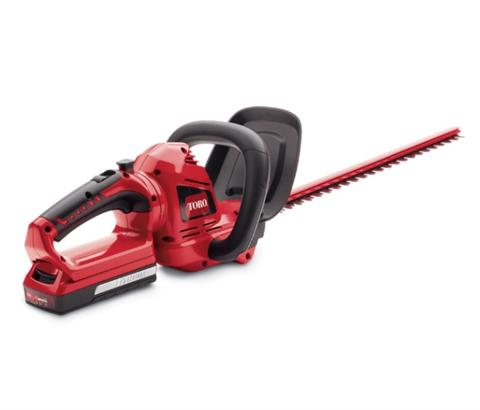 2017 Toro 20V Max 22 in. Cordless Hedge Trimmer (51494) in AULANDER, North Carolina