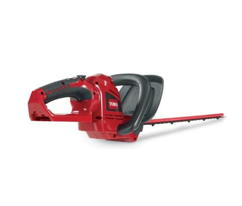 2017 Toro 20V Max 22 in. Cordless Hedge Trimmer Bare Tool (51494T) in AULANDER, North Carolina