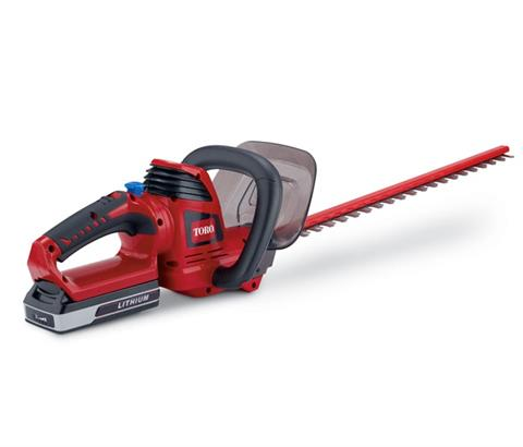 2017 Toro 24V Max 24 in. Cordless Hedge Trimmer (51496A) in AULANDER, North Carolina