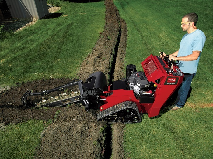 2017 Toro TRX-20 Walk-Behind Trencher (22973) in Dearborn Heights, Michigan
