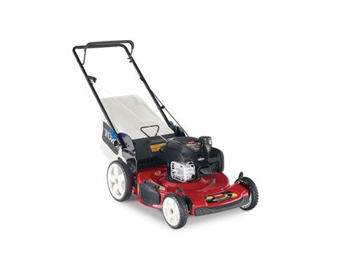 2018 Toro 22 in. (56 cm) SMARTSTOW High Wheel Push Mower in Francis Creek, Wisconsin