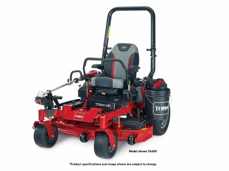 2018 Toro 52 in. (132 cm) Titan HD 1500 Series Zero Turn Mower in Dearborn Heights, Michigan
