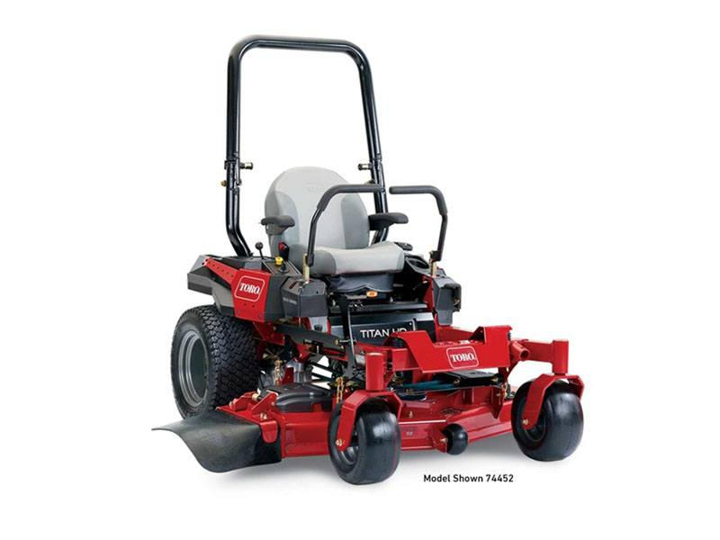 2018 Toro 52 in. (132 cm) Titan HD 1500 Series Zero Turn Mower in Aulander, North Carolina
