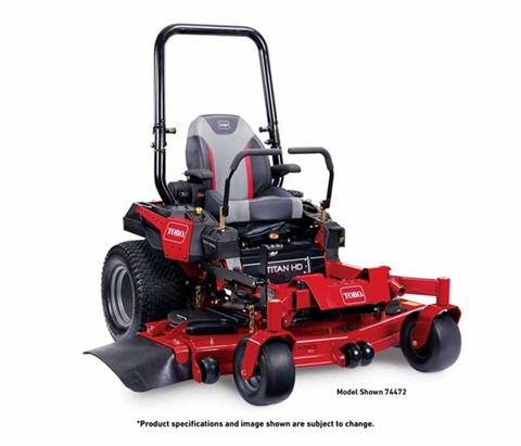 2018 Toro 52 in. (132 cm) Titan HD 2500 Series Zero Turn Mower in Mansfield, Pennsylvania
