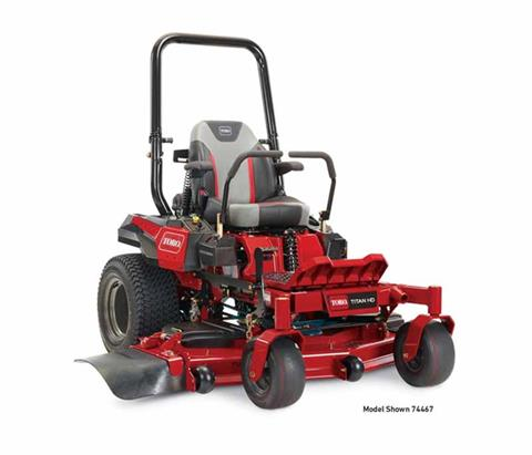 2018 Toro 60 in. (152 cm) Titan HD 2000 Series MyRide Zero Turn Mower in Mansfield, Pennsylvania