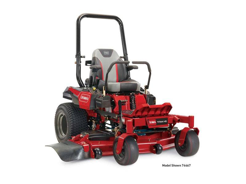 2018 Toro 60 in. (152 cm) Titan HD 2000 Series MyRide Zero Turn Mower in Derby, Vermont