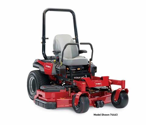 2018 Toro 60 in. (152 cm) Titan HD 2000 Series Rear Discharge Zero Turn Mower in Mansfield, Pennsylvania