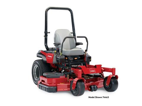 2018 Toro 60 in. (152 cm) Titan HD 2000 Series Rear Discharge Zero Turn Mower in Aulander, North Carolina