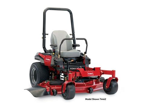 2018 Toro 60 in. (152 cm) Titan HD 2000 Series Zero Turn Mower in Beaver Dam, Wisconsin