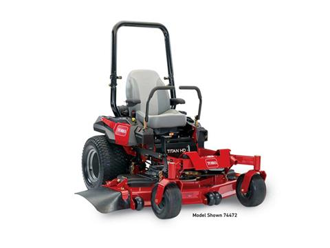 2018 Toro 60 in. (152 cm) Titan HD 2500 Series Zero Turn Mower in Aulander, North Carolina
