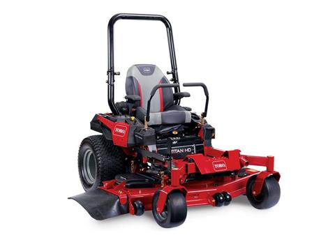 2018 Toro 60 in. (152 cm) Titan HD 2500 Series Zero Turn Mower (California Model) in Greenville, North Carolina