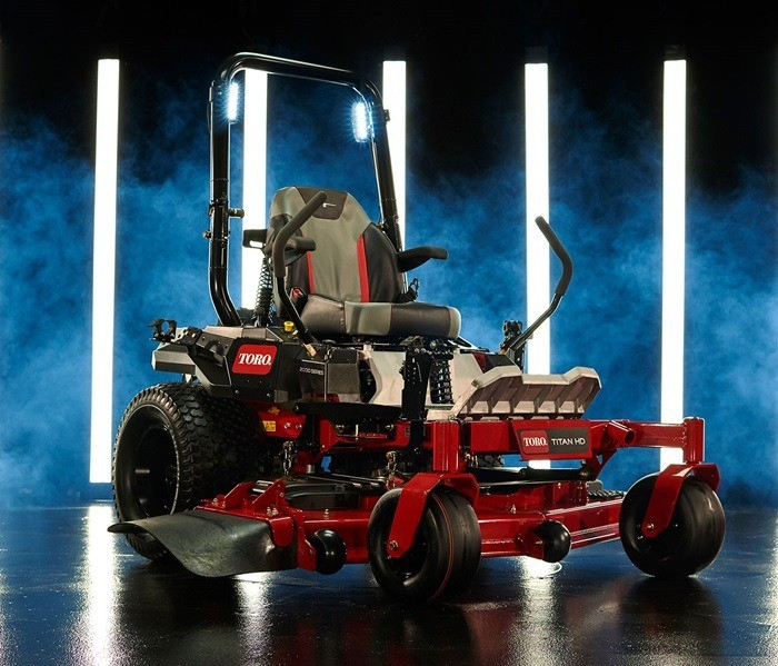 2019 Toro Titan HD 2000 Series Rear Discharge 60 in. Zero Turn Mower in Aulander, North Carolina