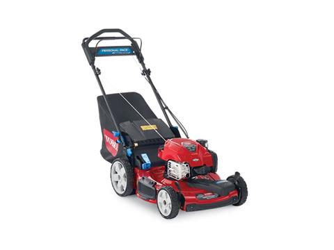 2019 Toro 22 in. PoweReverse Personal Pace SMARTSTOW High Wheel Mower in Park Rapids, Minnesota