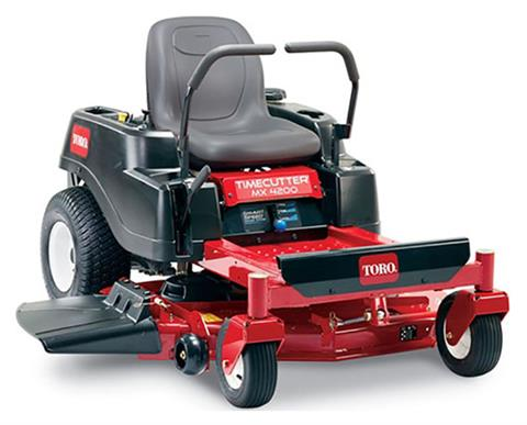 2019 Toro TimeCutter MX4200 42 in. Zero Turn Mower in Greenville, North Carolina