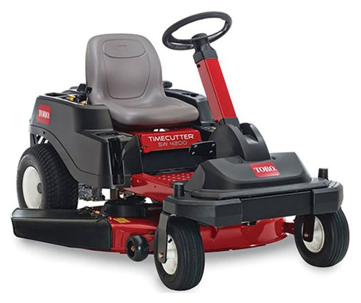 2019 Toro TimeCutter SW4200 42 in. Zero Turn Mower in Greenville, North Carolina