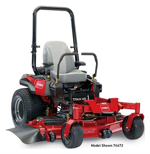 2019 Toro Titan HD 2500 Series 48 in. Zero Turn Mower in Mio, Michigan
