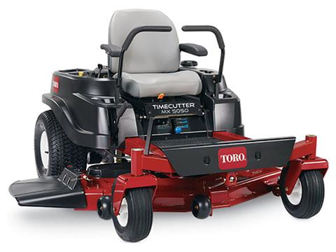 2019 Toro TimeCutter MX5050 50 in. Zero Turn Mower in Mio, Michigan