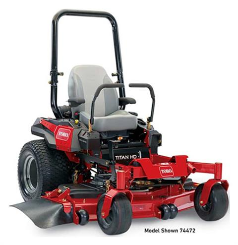 2019 Toro Titan HD 2500 Series 52 in. Zero Turn Mower in Mio, Michigan