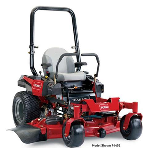 2019 Toro Titan HD 1500 Series 52 in. Zero Turn Mower in Mio, Michigan