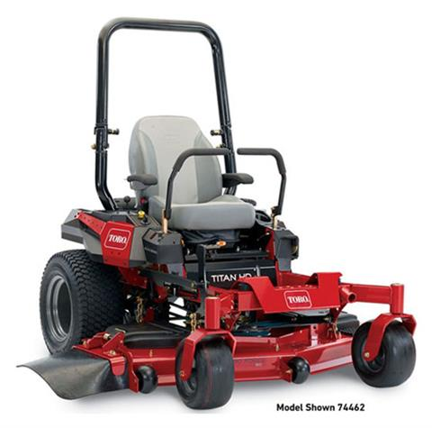 2019 Toro Titan HD 2000 Series 60 in. Zero Turn Mower in Mio, Michigan