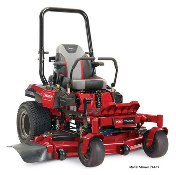 2019 Toro Titan HD 2000 Series MyRide 60 in. Zero Turn Mower in Greenville, North Carolina