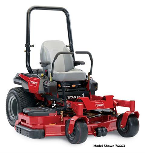 2019 Toro Titan HD 2000 Series Rear Discharge 60 in. (74463) Zero Turn Mower in Park Rapids, Minnesota