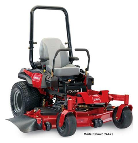 2019 Toro Titan HD 2500 Series 60 in. (74472) Zero Turn Mower in Park Rapids, Minnesota