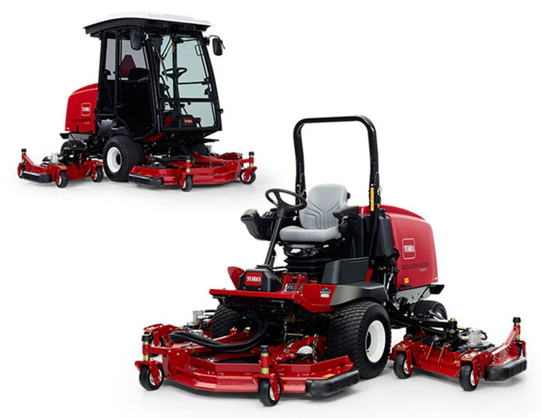New 2019 Toro Groundsmaster 4000 Series Lawn Mowers in