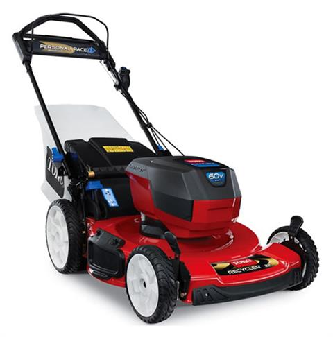 2019 Toro 22 in. 60V MAX SMARTSTOW Personal Pace High Wheel Mower in Beaver Dam, Wisconsin