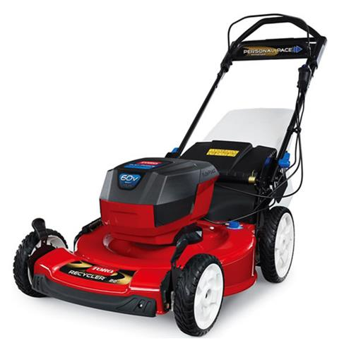 2019 Toro 22 in. 60V MAX SMARTSTOW Personal Pace High Wheel Mower in Park Rapids, Minnesota - Photo 2