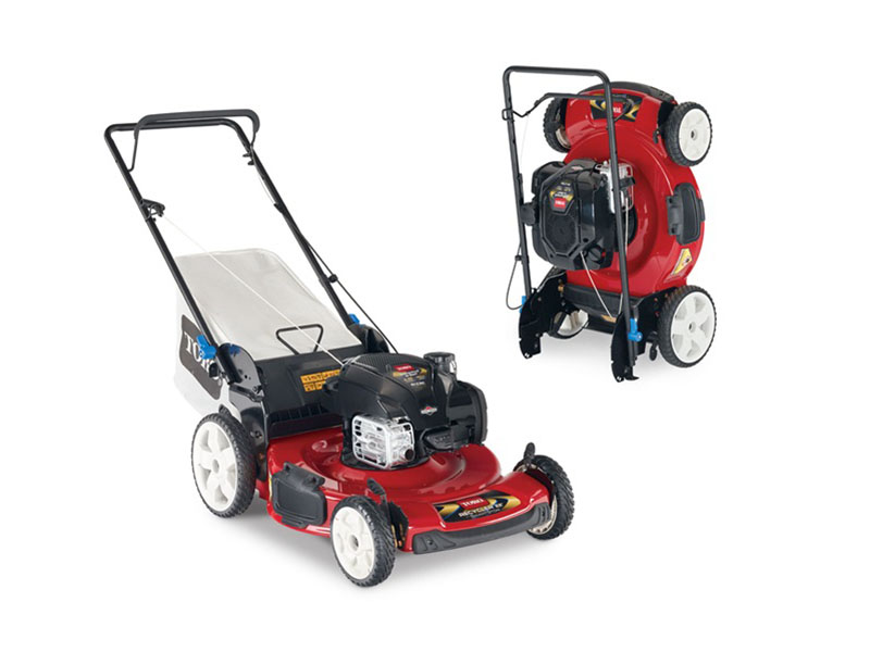 2019 Toro 22 in. SMARTSTOW High Wheel Push Mower in Greenville, North Carolina - Photo 1
