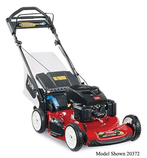 2019 Toro 22 in. Personal Pace Electric Start Mower in Mansfield, Pennsylvania