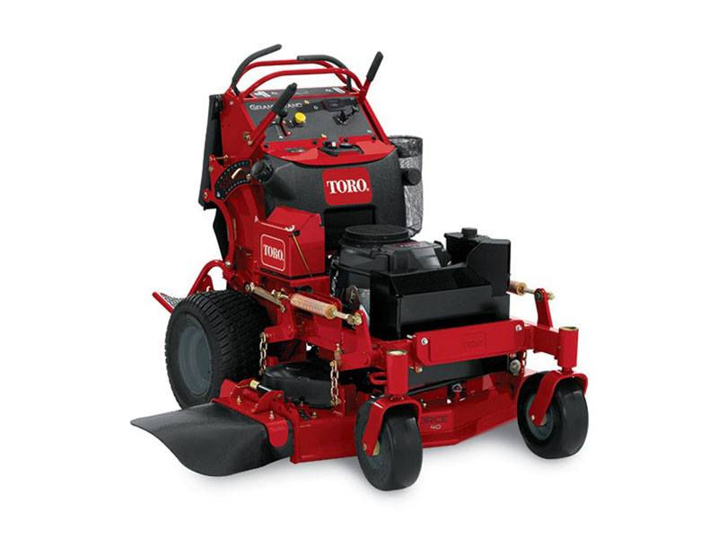 2019 Toro GrandStand 40 in. Zero Turn Mower in Greenville, North Carolina