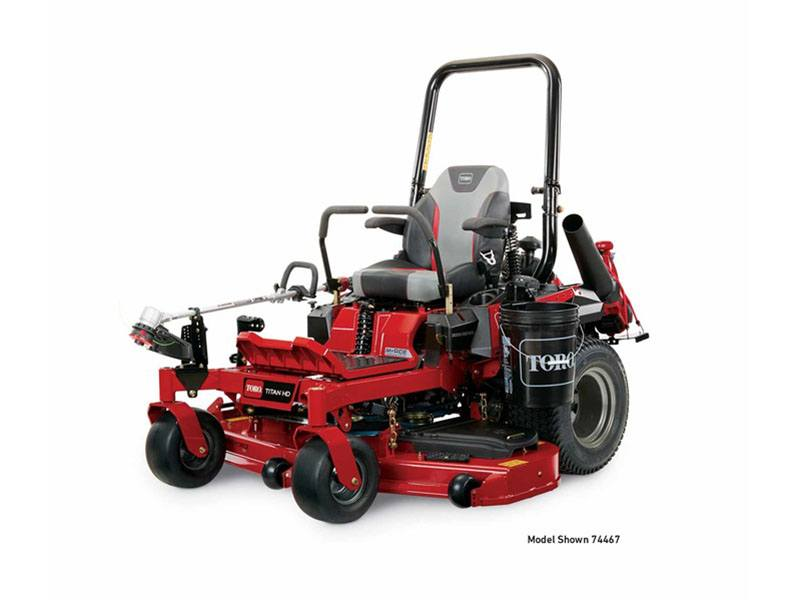 2019 Toro Titan HD 2000 Series MyRide 48 in. Zero Turn Mower in Mansfield, Pennsylvania