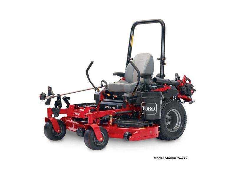 2019 Toro Titan HD 2000 Series Rear Discharge 60 in. (74463) Zero Turn Mower in Poplar Bluff, Missouri - Photo 2