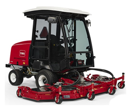 2019 Toro Groundsmaster 4110-D 10.3 ft. Yanmar Diesel 55 hp in New Durham, New Hampshire