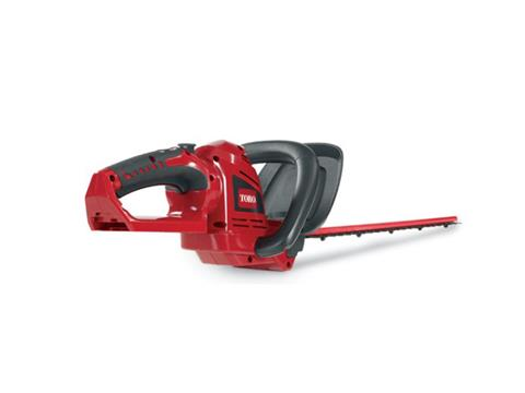 2019 Toro 20V Max 22 in. Cordless Hedge Trimmer Bare Tool in Greenville, North Carolina