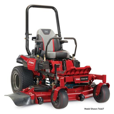 2020 Toro Titan HD 2000 Series 52 in. Toro 24.5 hp MyRide Zero Turn Mower in Aulander, North Carolina