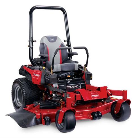 2020 Toro Titan HD 2500 Series 60 in. Kawasaki CARB 23.5 hp Zero Turn Mower in Francis Creek, Wisconsin