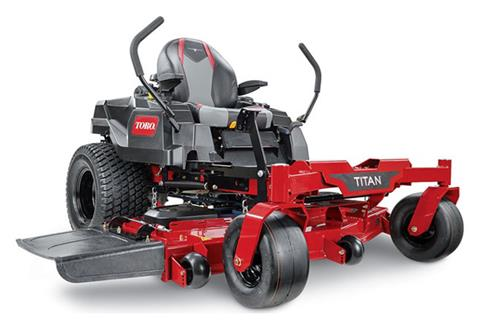 2020 Toro Titan 60 in. Toro 24.5 hp Zero Turn Mowers in Aulander, North Carolina
