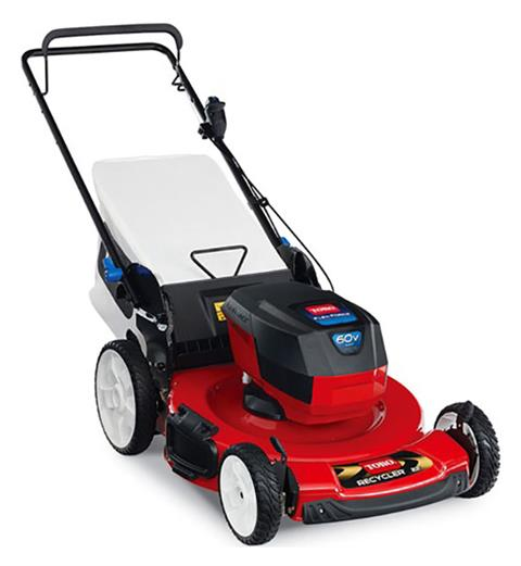 2019 Toro 22 in. 60V MAX SMARTSTOW High Wheel Push Mower Bare Tool in Park Rapids, Minnesota