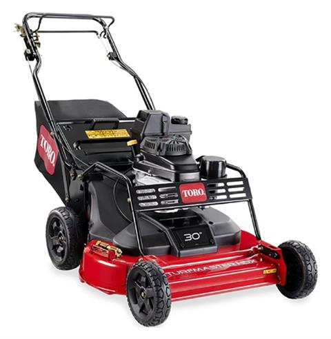 2019 Toro Turfmaster HDX 30 in. Kawasaki FJ180V Push in Mio, Michigan
