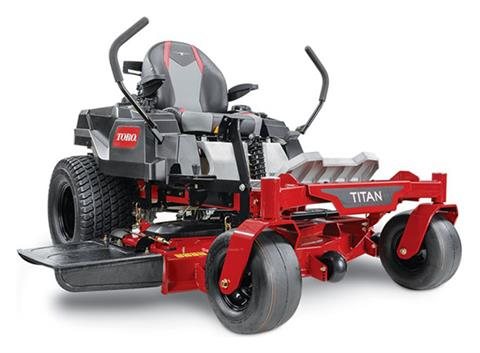 2020 Toro Titan 60 in. Toro 24.5 hp MyRIDE Zero Turn Mowers in Francis Creek, Wisconsin